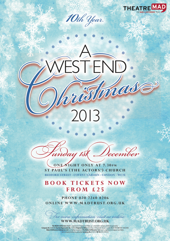 A West End Christmas 2013