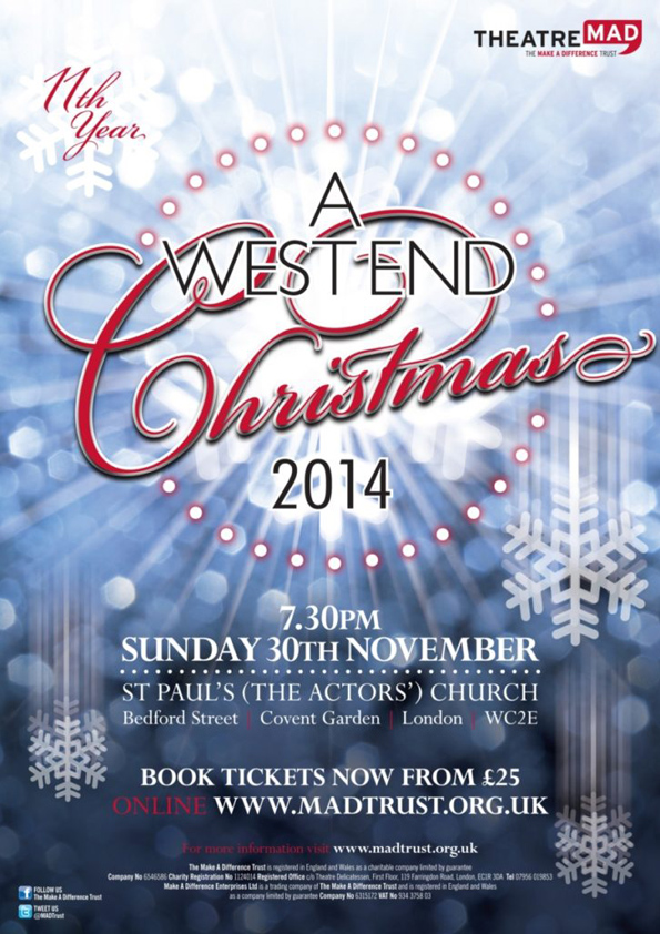 A West End Christmas 2014