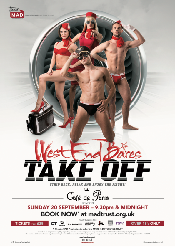 West End Bares & Stripathon 2015