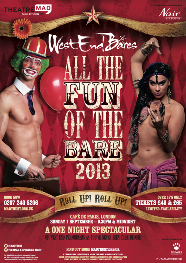 West End Bares & Stripathon 2013