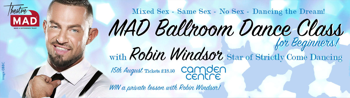 Beginners Ballroom Dance Class With Robin Windsor 2016