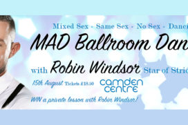 TMAD – Beginners Ballroom Dance Class With Robin Windsor