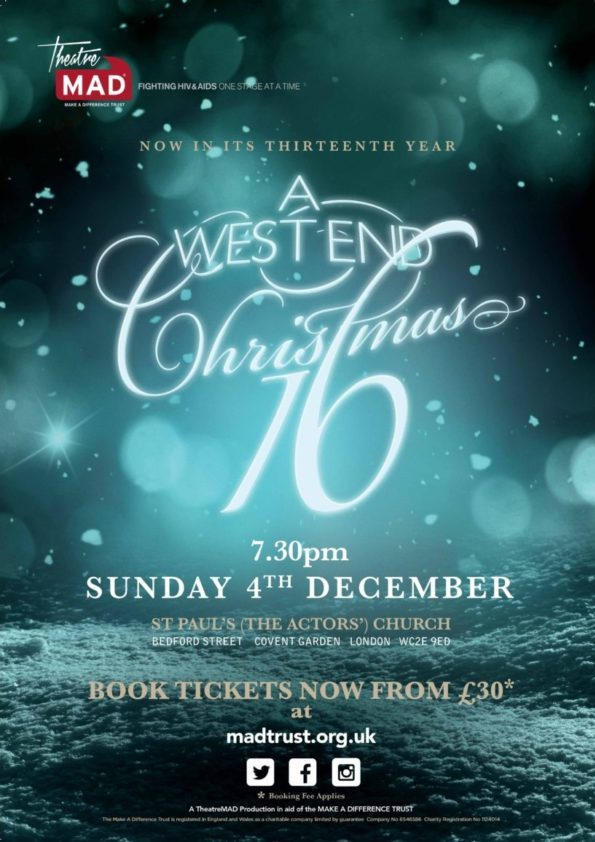 A West End Christmas 2016