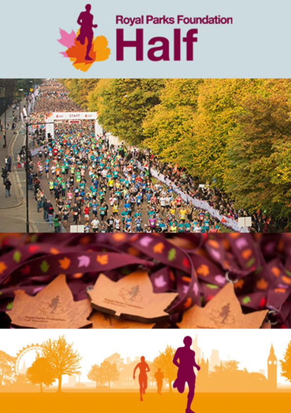 Royal Parks Foundation Half Marathon Hyde Park 2016