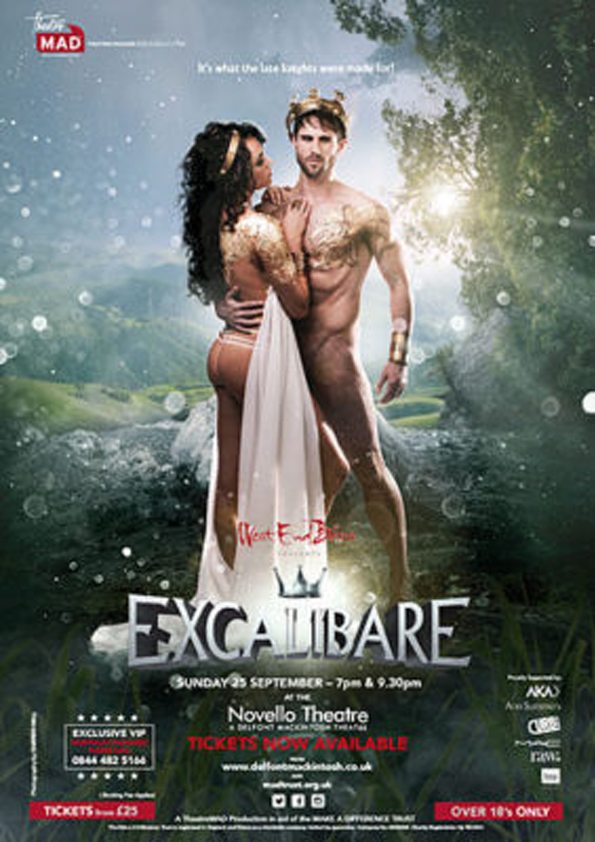 West End Bares 2016: EXCALIBARE