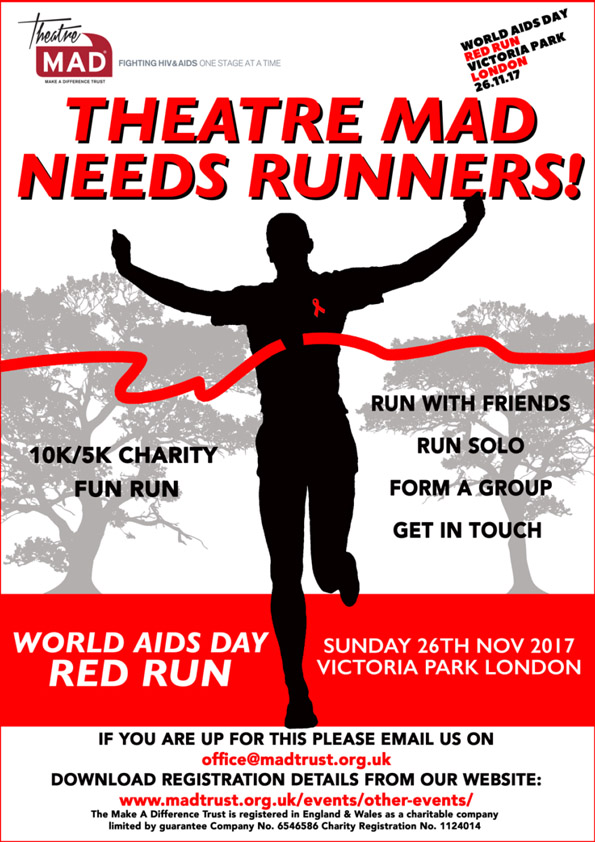 RED Run for World AIDS Day – £1437.50 Raised