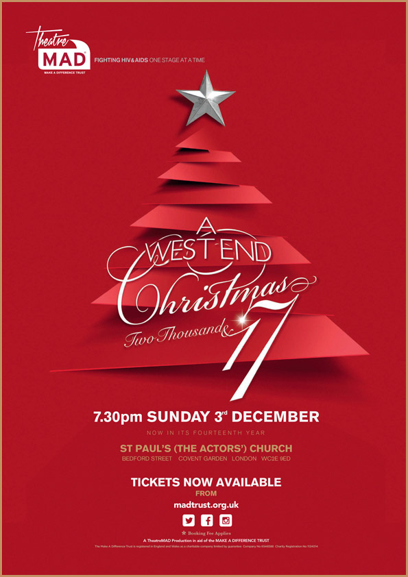 A West End Christmas 2017 – £12,707 Raised