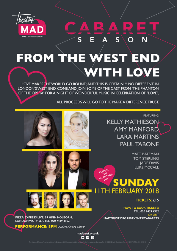 With Love From the West End – £1,044.36 Raised
