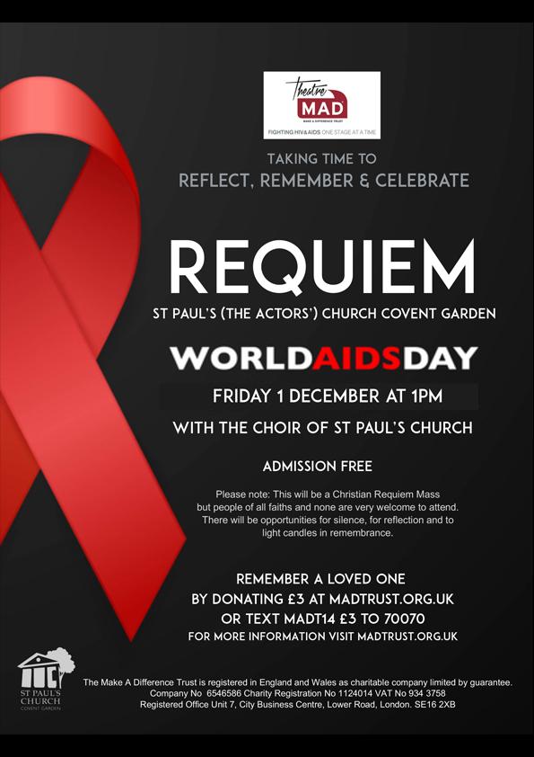 REQUIEM – World AIDS Day 2017
