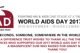 £76,360 Raised by Bucket Collection – 2017 World AIDS Day Theatre Bucket Collection