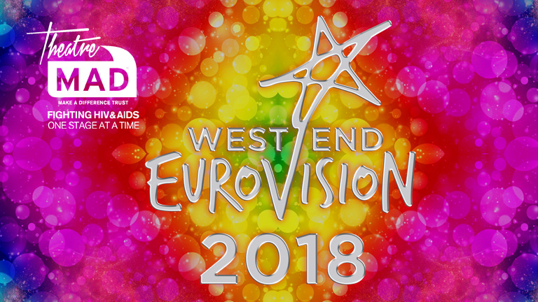WEST END EUROVISION 2018 – £42,179 Raised – SEE PHOTOS
