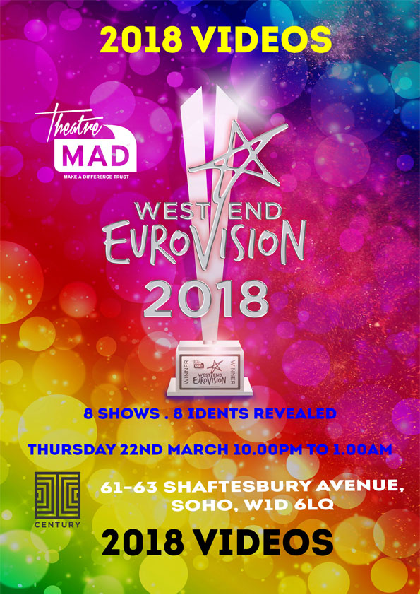 West End Eurovision 2018 Performances Videos & Idents