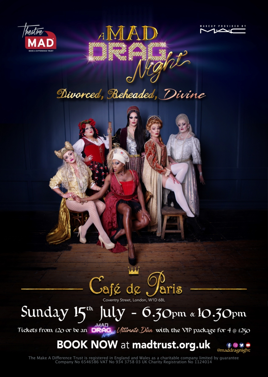 MAD Drag Night 2018 – ON SALE NOW!