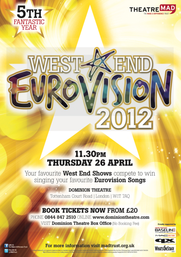 West End Eurovision 2012