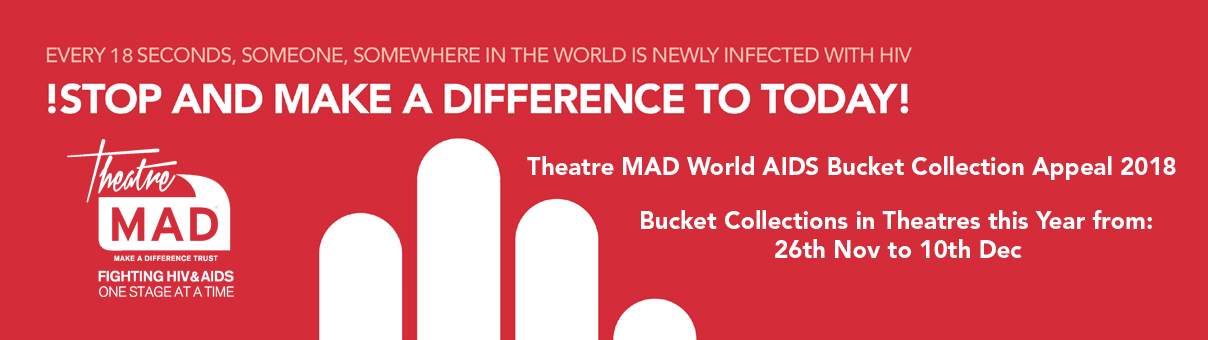Over £106,000 so far – World AIDS Bucket Collection Appeal 2018