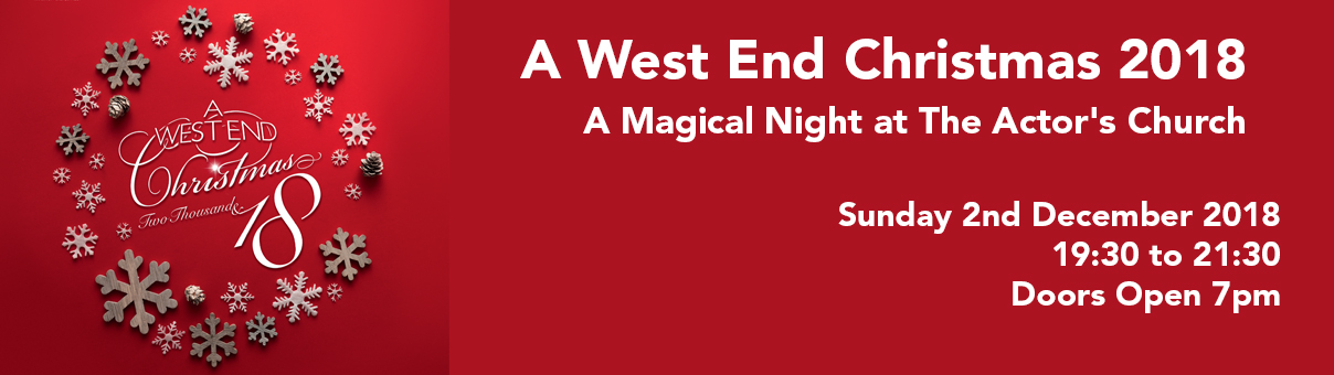 £11,677 Raised – A West End Christmas 2018