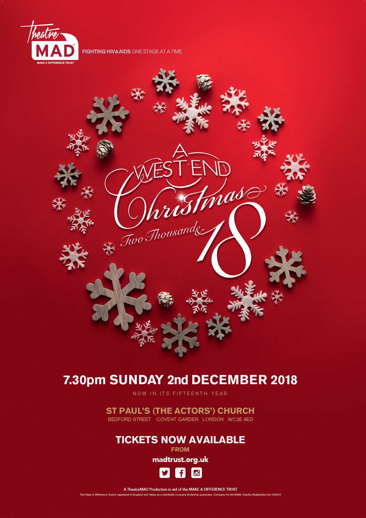 A West End Christmas 2018