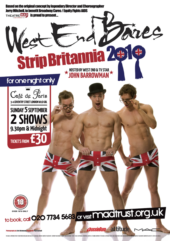West End Bares 2010 – Strip Britannia