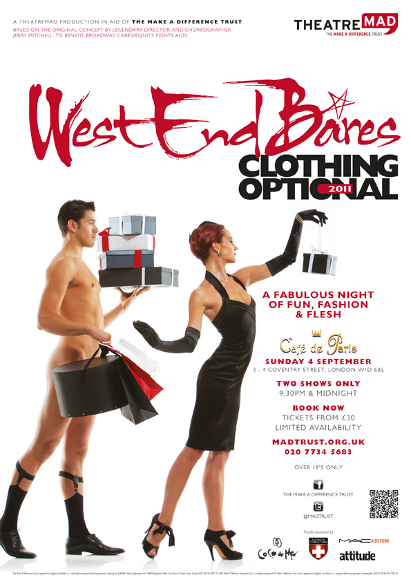 West End Bares 2011 – Clothing Optional