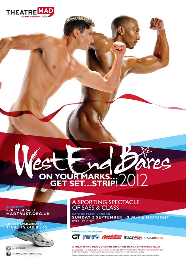 West End Bares 2012 – On Your Marks…Get Set…Strip