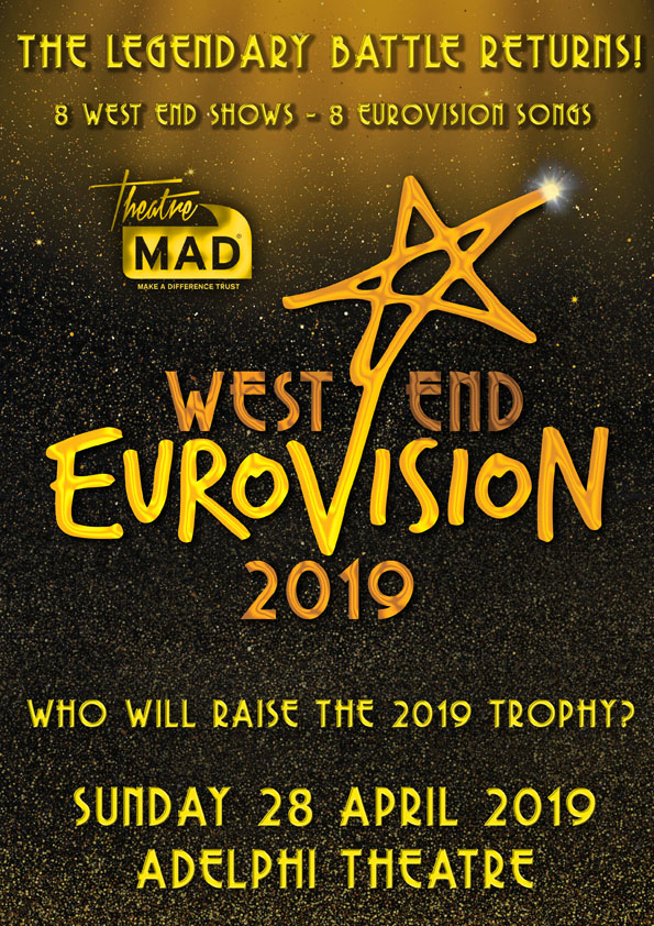 ON SALE NOW-West End Eurovision 2019