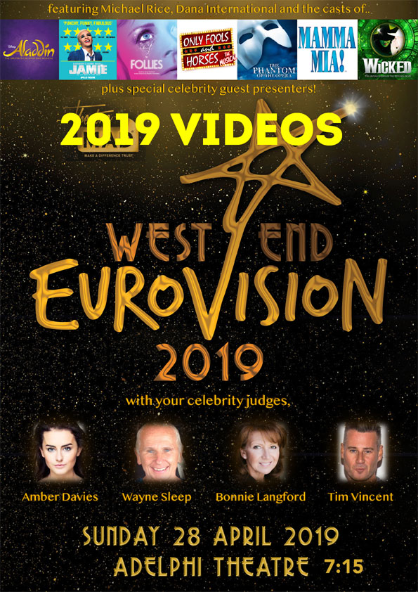 West End Eurovision 2019 Ident Videos
