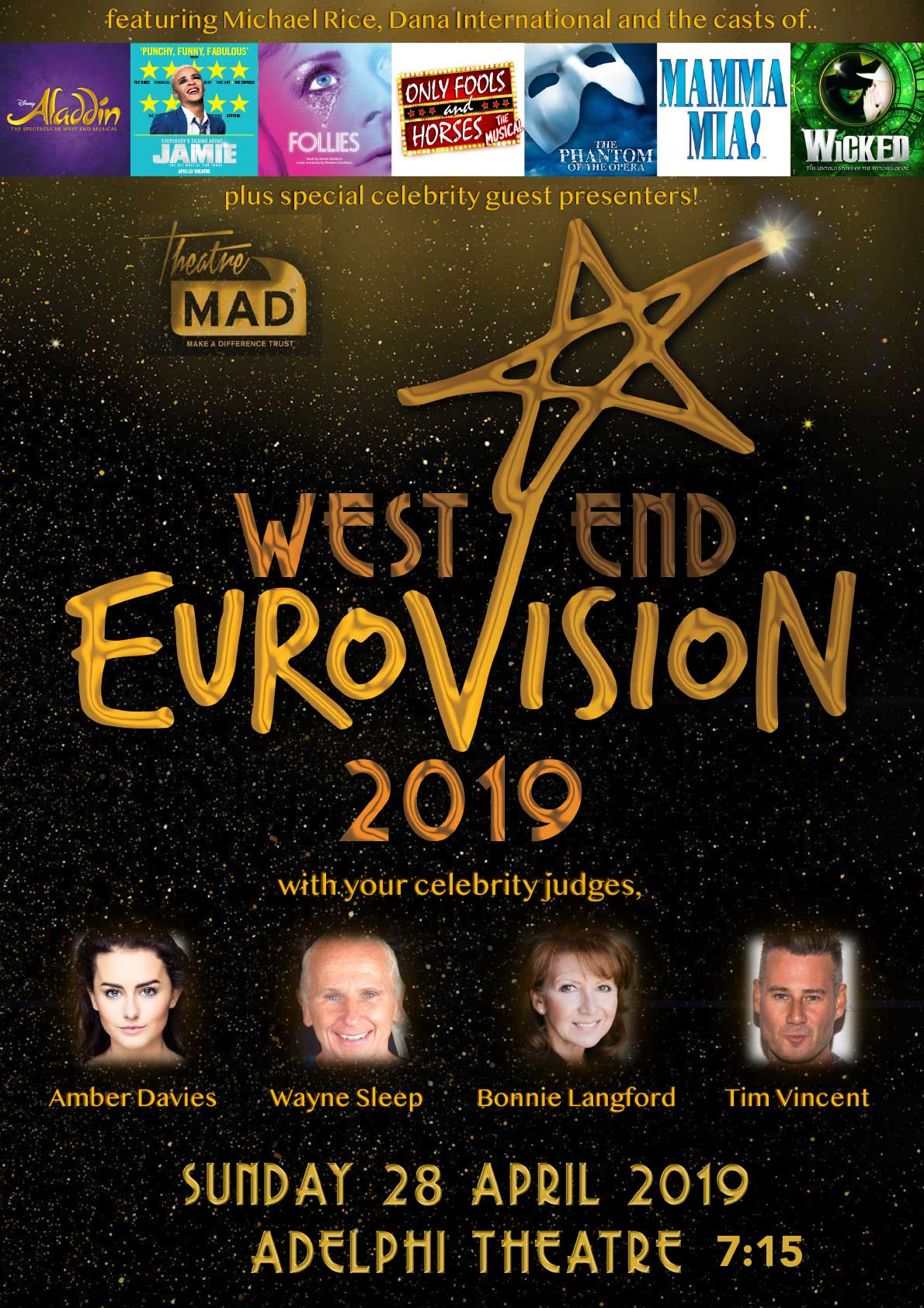 West End Eurovision 2019