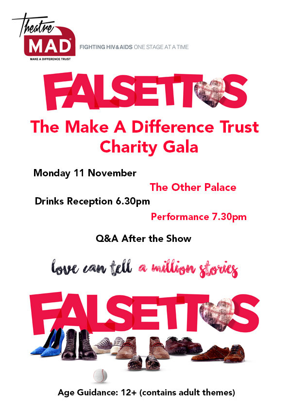 Falsettos Charity Gala Evening at The Other Palace