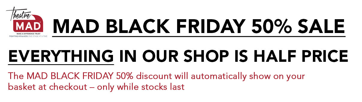 MAD BLACK FRIDAY 50% SALE