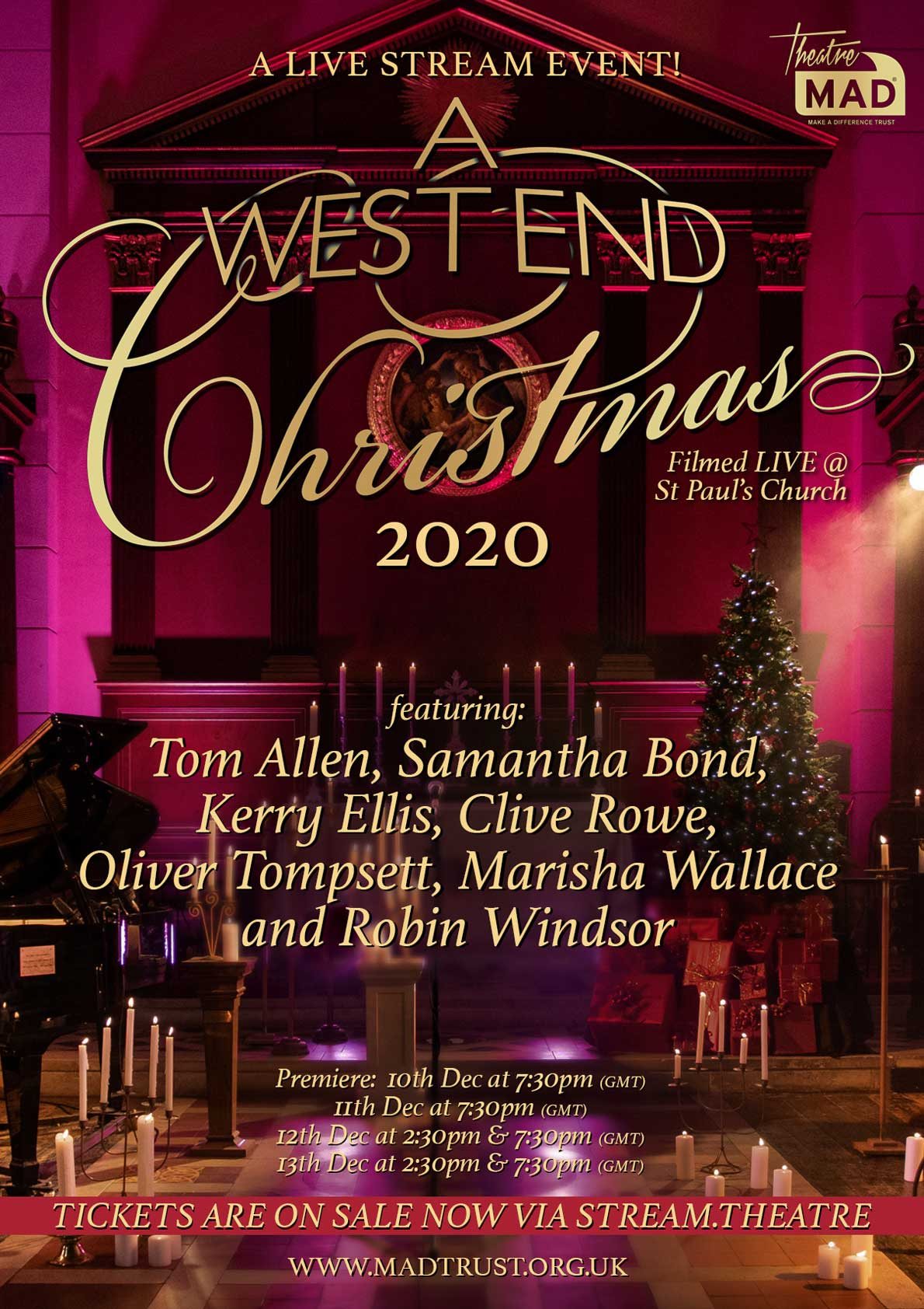 A West End Christmas 2020